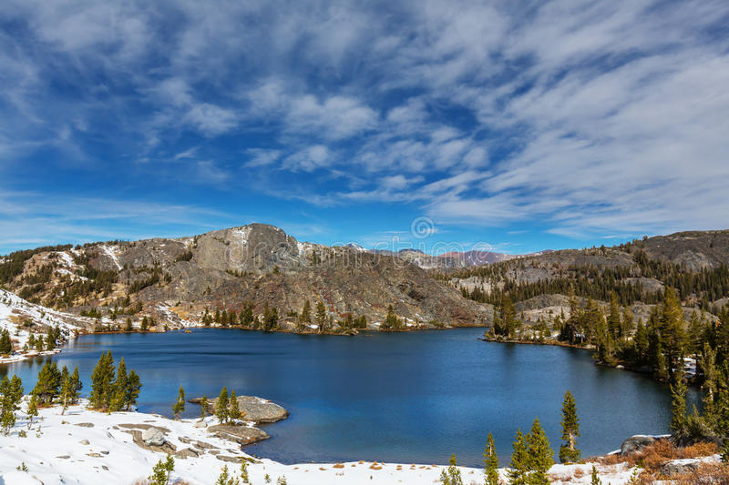 Sierra Nevada royalty free stock images