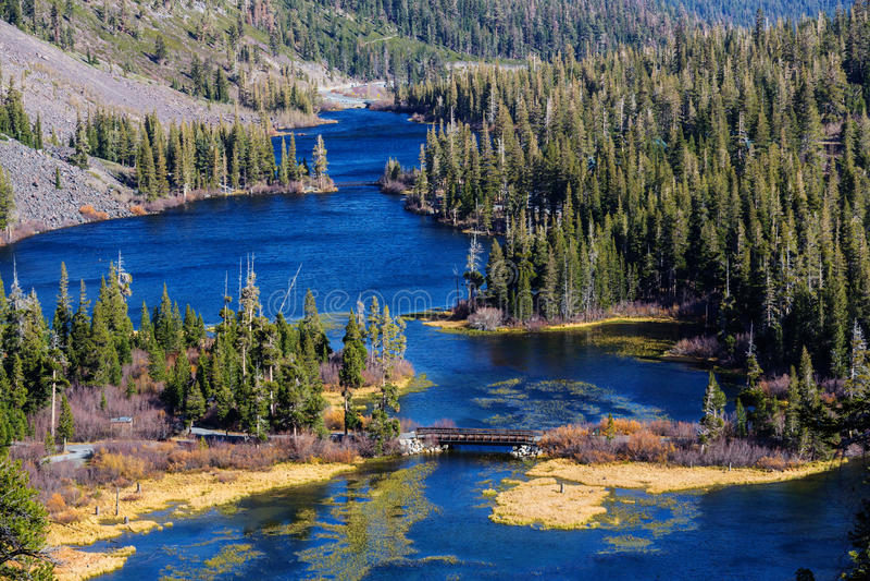 Sierra Nevada. Mountains royalty free stock image