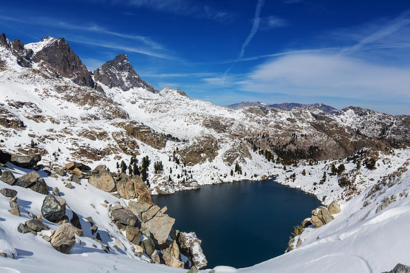 Sierra Nevada. Mountains stock images
