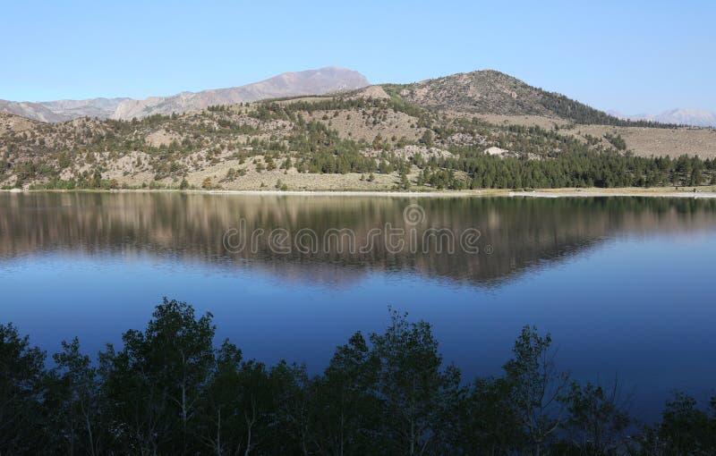 Sierra Nevada Mountains June Lake fotografia stock libera da diritti