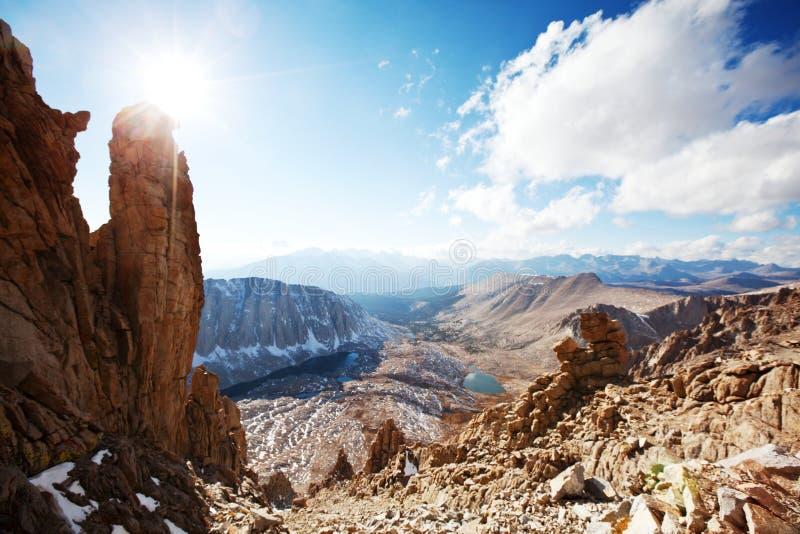 Sierra Nevada. Mountains stock photo