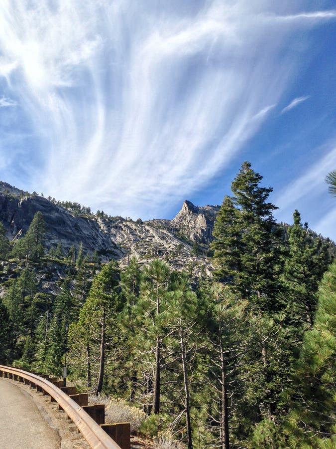 Sierra Nevada Roadside foto de archivo
