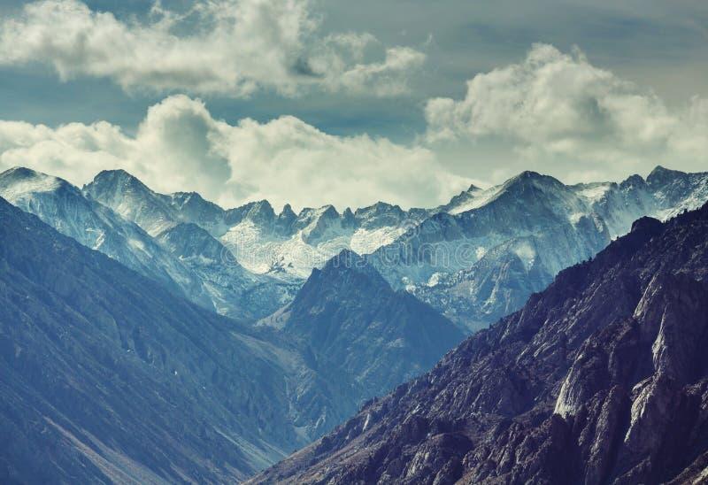 Sierra Nevada. Mountains royalty free stock photo