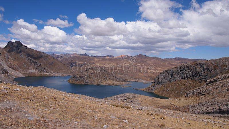 Sierra peruana immagini stock