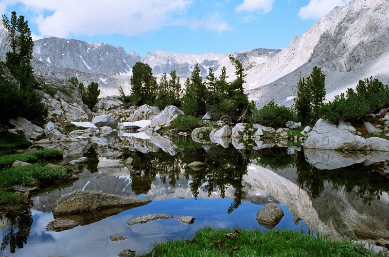 Sierra Reflections royalty free stock photos