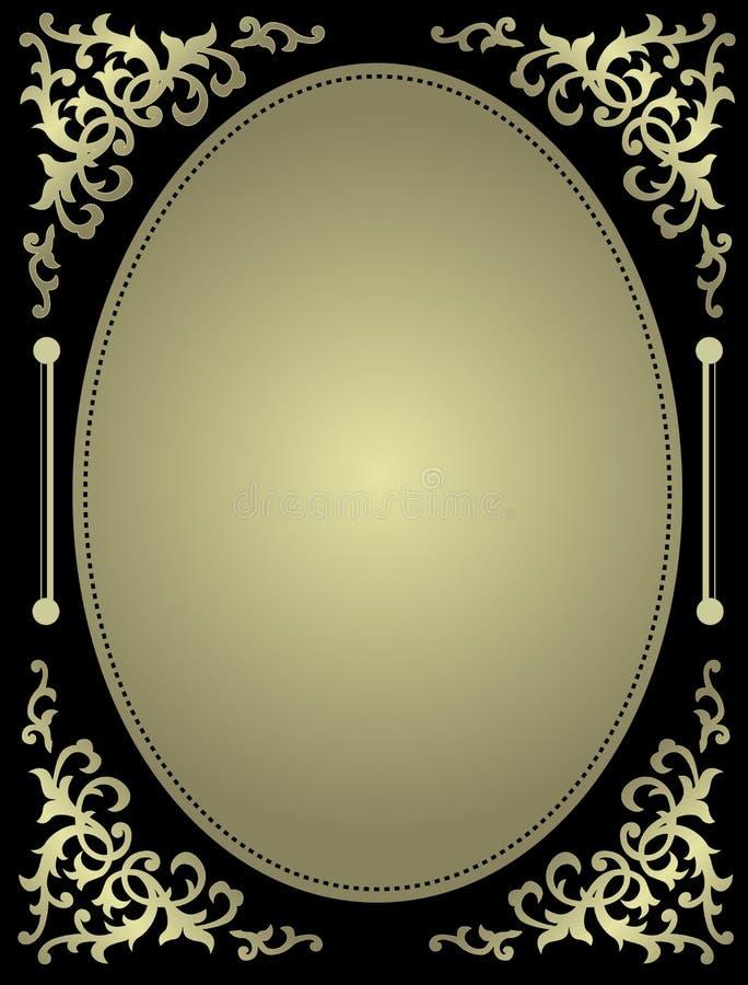 Sieruitnodigingskaart met lege ruimte royalty-vrije illustratie