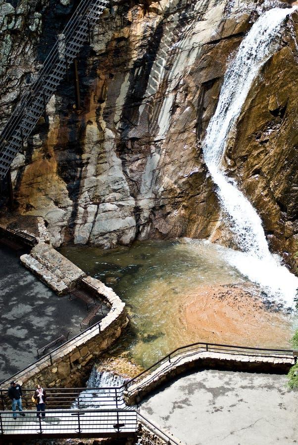 Siete Caídas En Colorado Springs Imagen de archivo - Imagen de agua ...