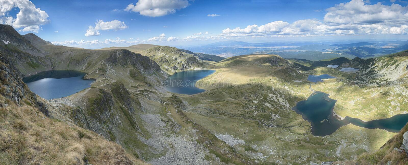 Siete lagos del rila, Bulgaria fotografía de archivo libre de regalías