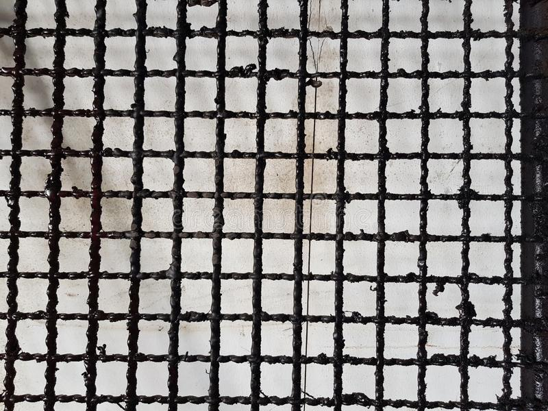 Sieve for painting The stain stock images