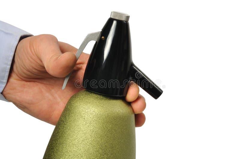 Sifón de la soda imagen de archivo