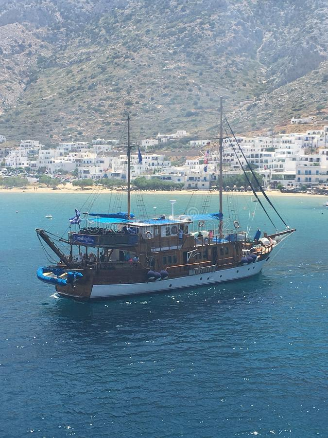 Sifnos; Grekland royaltyfri foto