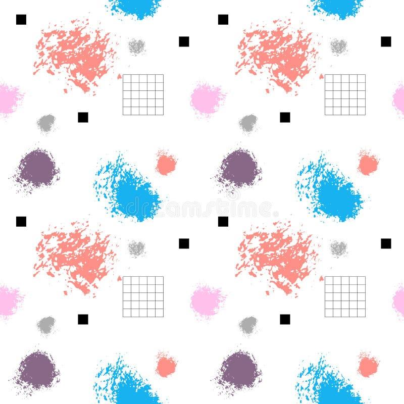 Αφηρημένο άνευ ραφής σχέδιο Ψηφιακό υπόβαθρο για το σχέδιο, Ιστός, κάλυψη, κλωστοϋφαντουργικά προϊόντα διανυσματική απεικόνιση