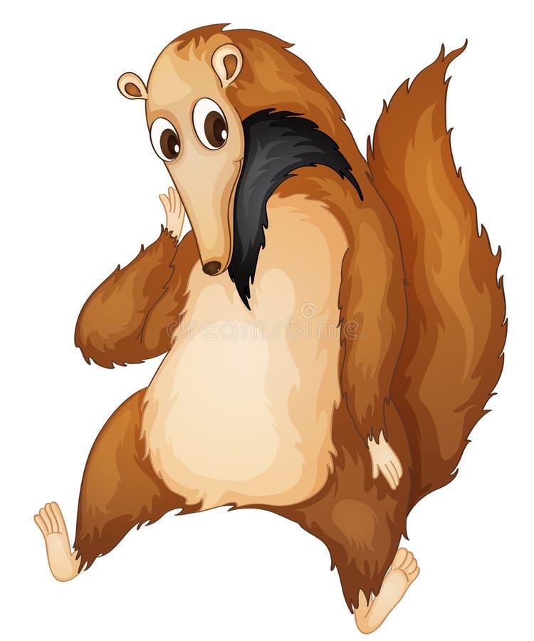 Sig. anteater royalty illustrazione gratis