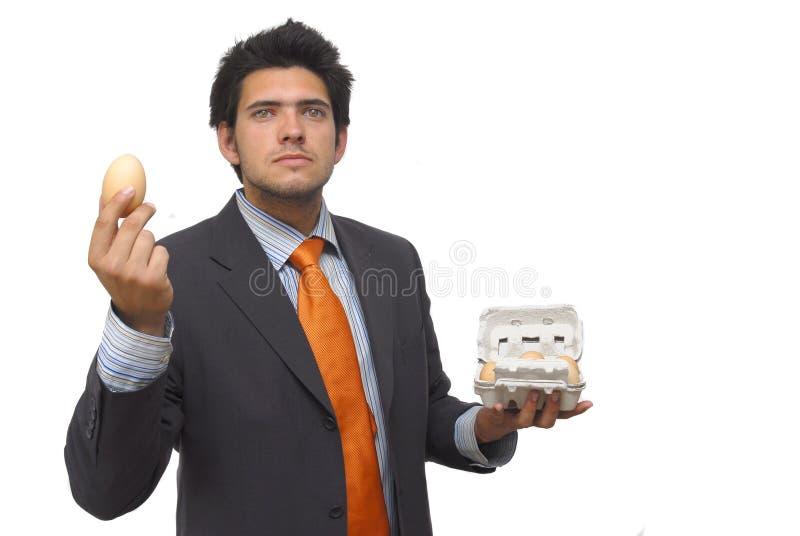 Sig. Egg immagini stock libere da diritti