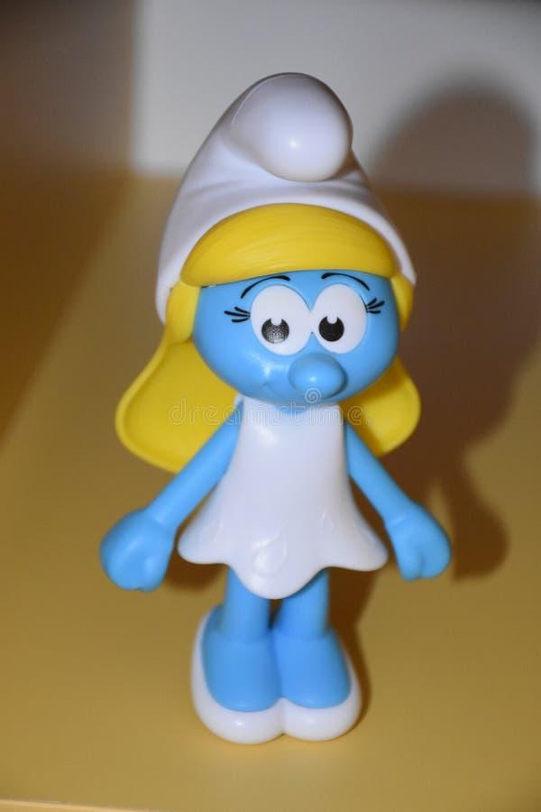 Sig.na Smurfs fotografie stock libere da diritti