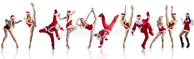Sig.ra sexy Santa fotografia stock