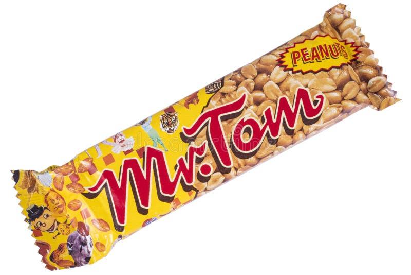 Sig. Tom Peanut Bar immagine stock