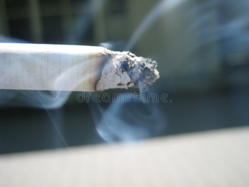 Sigaret 1 stock afbeelding