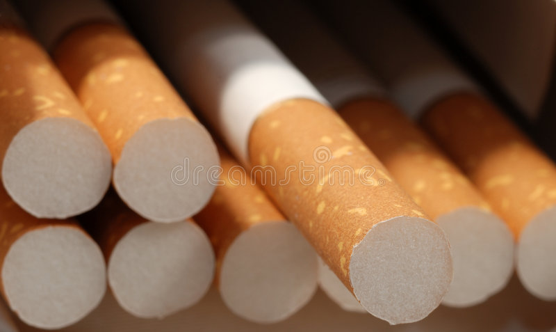 Sigaret stock foto