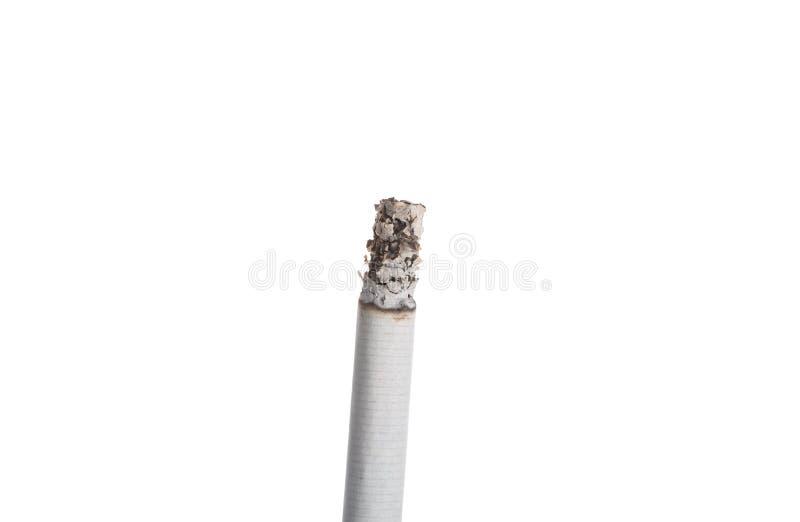 Sigaret geïsoleerd branden stock afbeeldingen