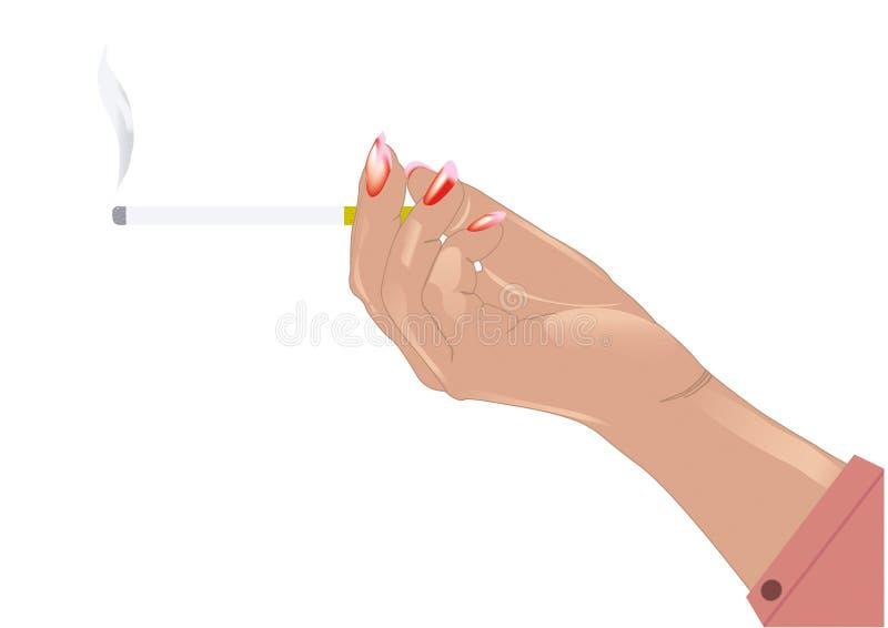 Sigaret ter beschikking vector illustratie