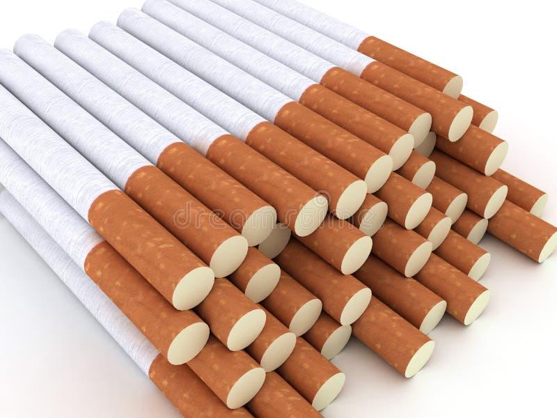 Download Sigarette illustrazione di stock. Illustrazione di dipendenza - 7302879
