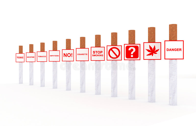 Download Sigarette illustrazione di stock. Illustrazione di tabacco - 7302985