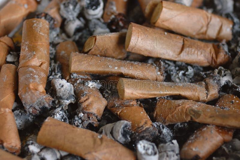 Sigaretuiteinden stock fotografie