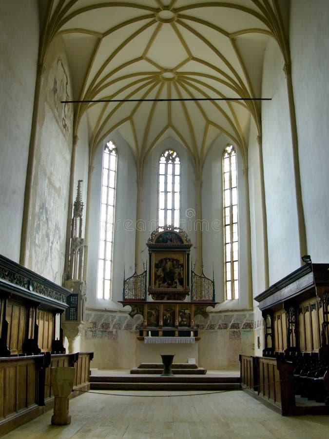 sighisoara церков готское стоковое фото rf