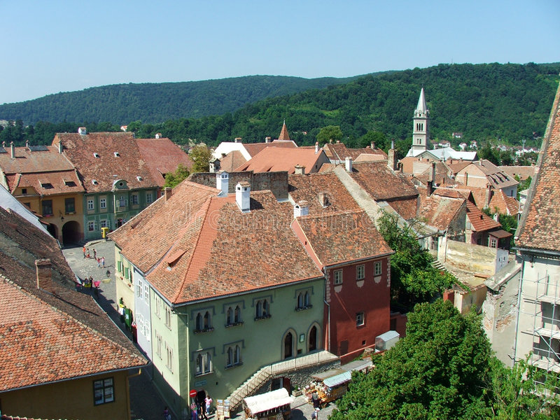 Sighisoara 2 Stock Photo