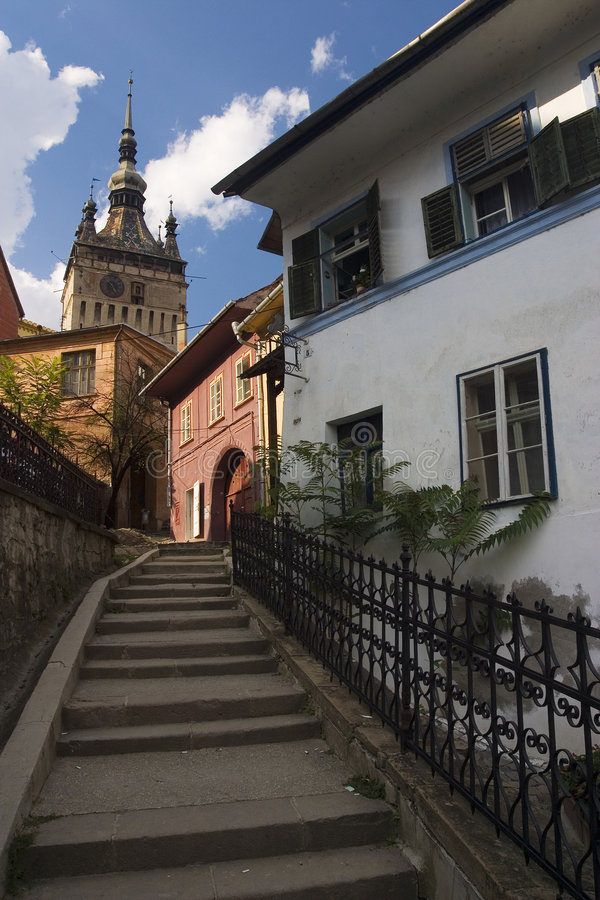 Sighisoara fotografia de stock royalty free