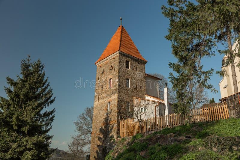 Sighisoara em Romênia imagens de stock
