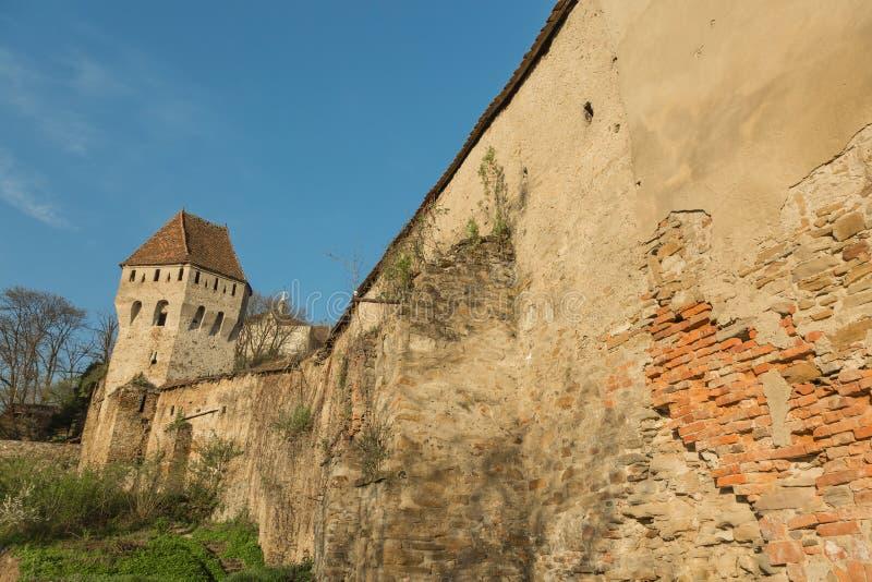 Sighisoara em Romênia fotos de stock royalty free