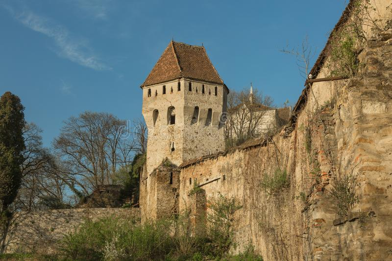 Sighisoara em Romênia imagem de stock