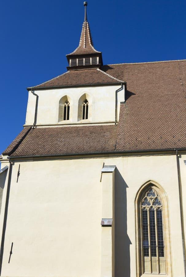 Sighisoara - igreja do monte fotos de stock royalty free