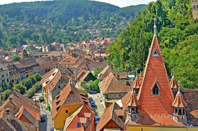 Download Sighisoara, Romania imagem de stock. Imagem de cityscape - 26514577