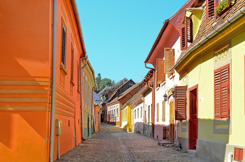 Download Sighisoara, Romania stock photo. Image of sights, architecture - 26802180