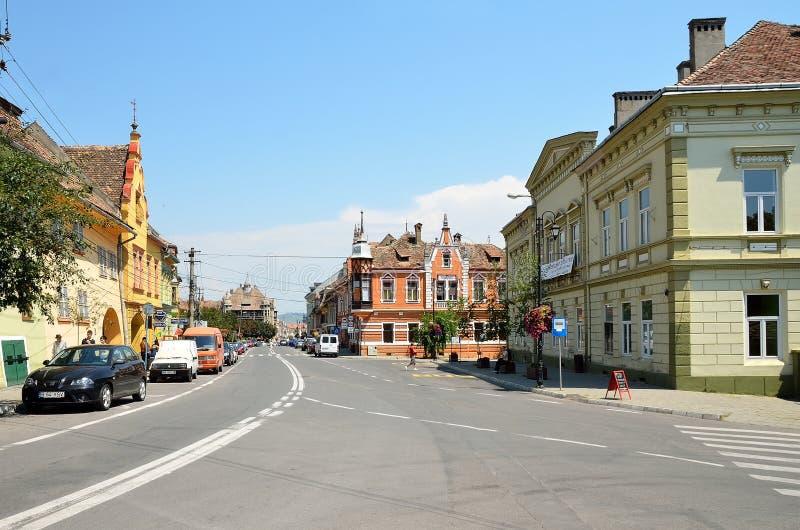 Sighisoara, Roumanie. image libre de droits