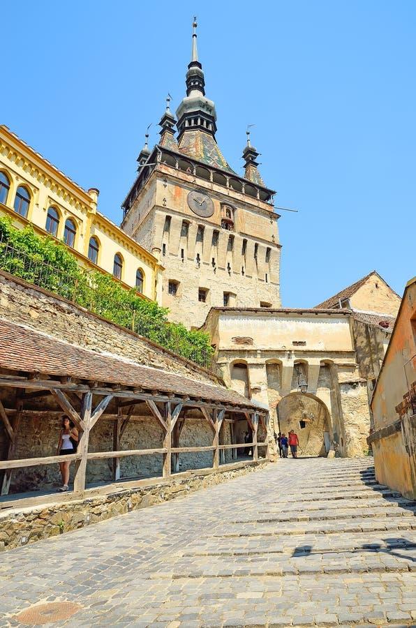 Sighisoara, Roumanie image stock