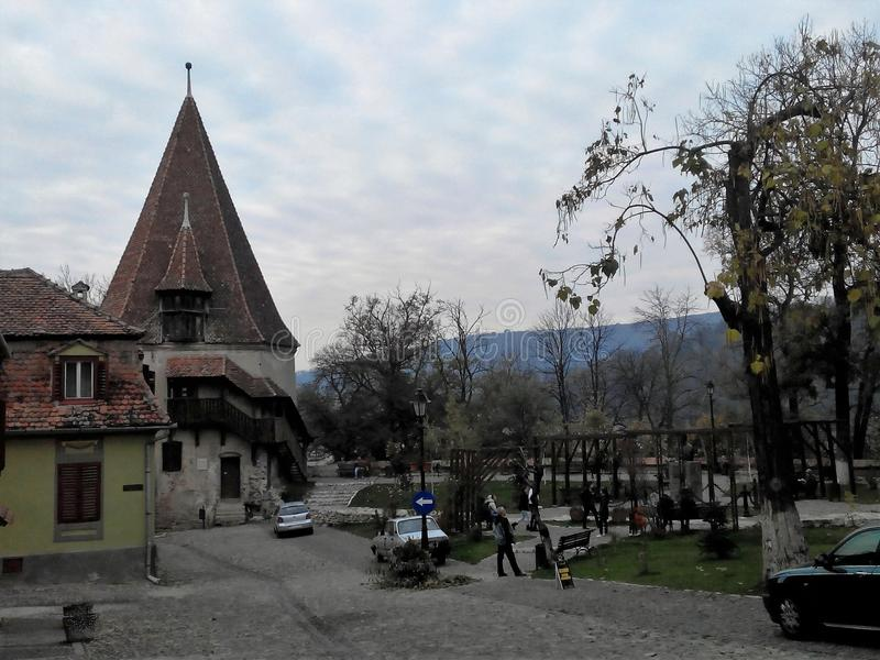 Sighisoara Rumania imágenes de archivo libres de regalías