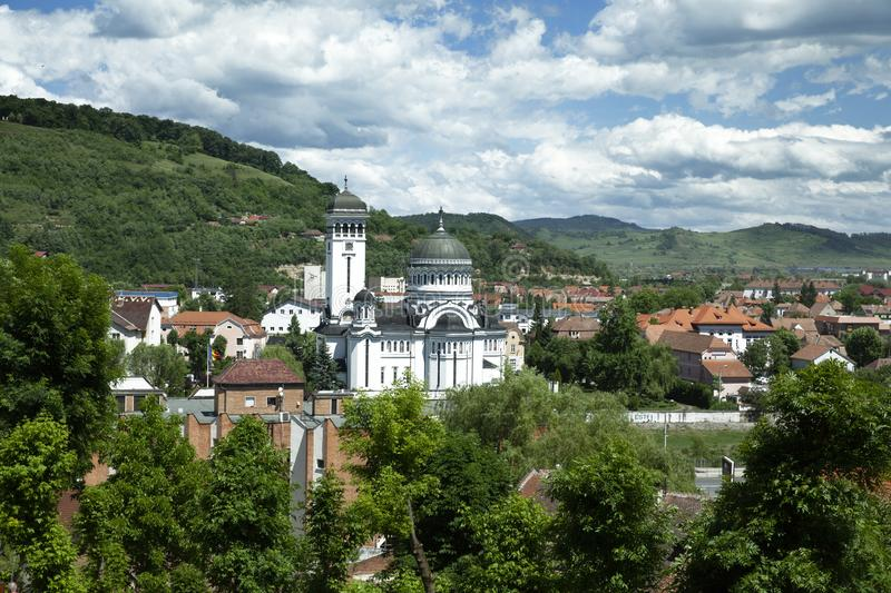 Sighisoara Holy Trinity Church royalty free stock image