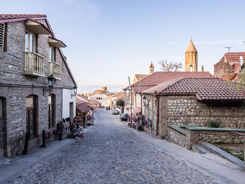 Sighnaghi royalty free stock photo