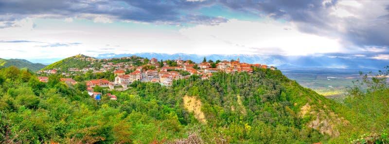 Sighnaghi, Kakheti Georgia foto de archivo libre de regalías