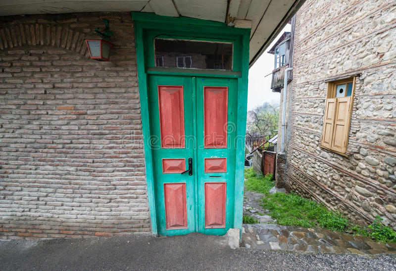 Sighnaghi. Town in Kakheti region of Georgia stock images