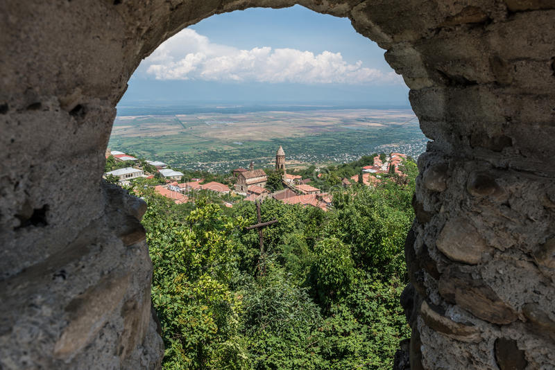 Sighnaghi royalty free stock photos