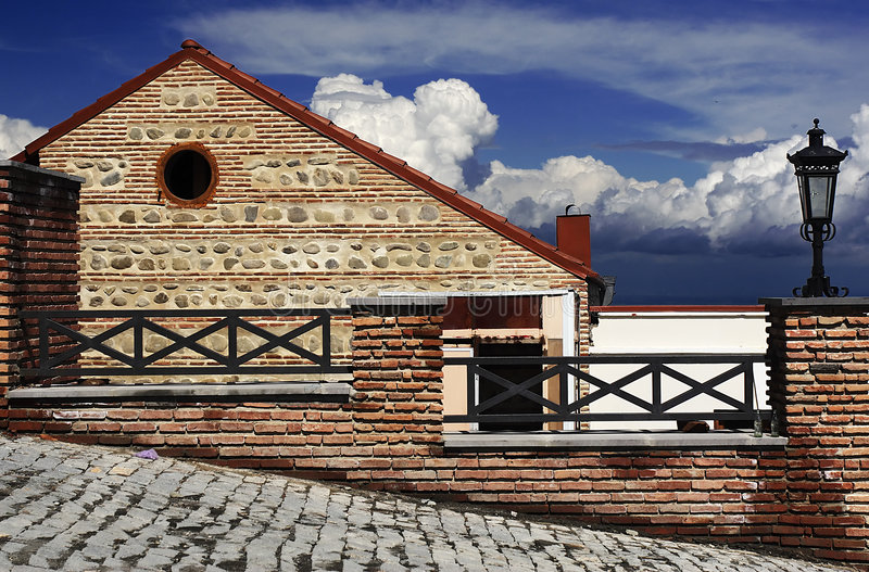 sighnagi Georgia стоковое изображение rf
