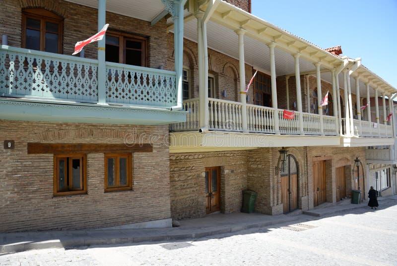 Sighnagi. Sighnaghi is capital of the Kakheti wine region, Georgia royalty free stock image
