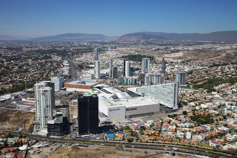 Sight airs of guadalajara. Jalisco, Mexico royalty free stock photography