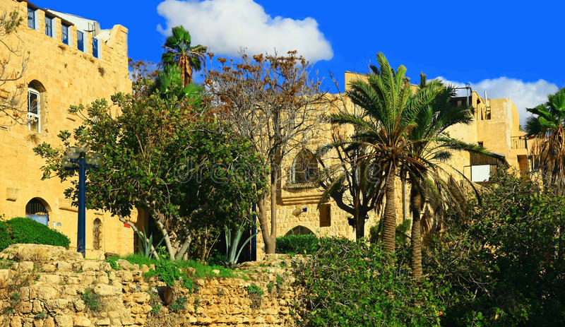 Jaffa Port, Israel. Sight of the Jaffa Port, Israel royalty free stock photos
