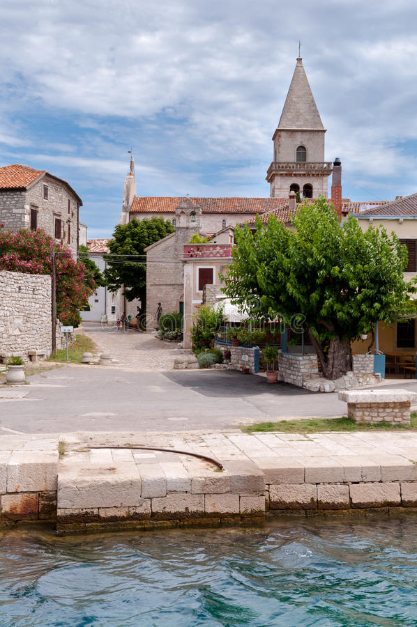 Free Sight Of Osor Town In Cres Island Royalty Free Stock Image - 46355236